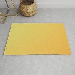 Yellow and Orange Gradient Rug