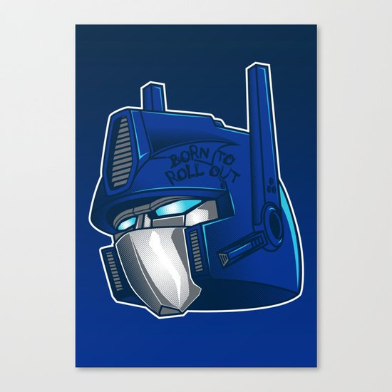 Full Metal Prime Canvas Print