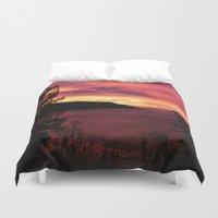 big sur Duvet Covers featuring Sunset * Big Sur, California by John Lyman Photos