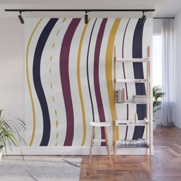 Abstract color parallel lines Wall Mural