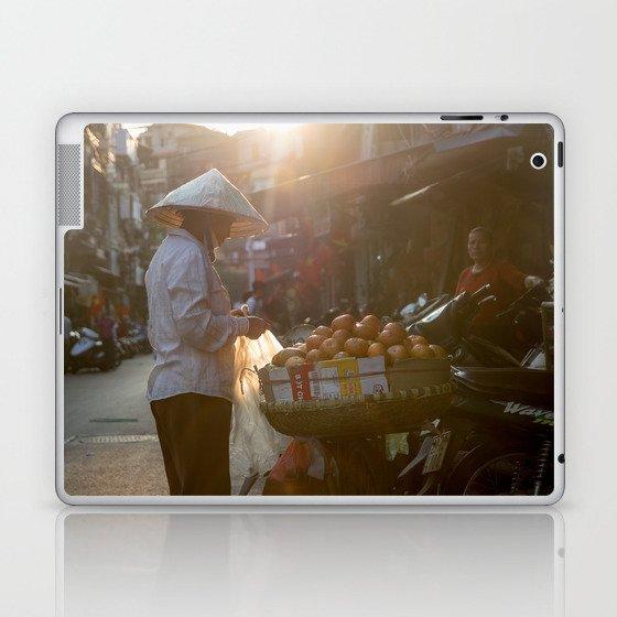 Vietnam Streets Laptop & iPad Skin