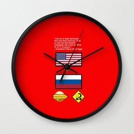 Got Racist? Wall Clock