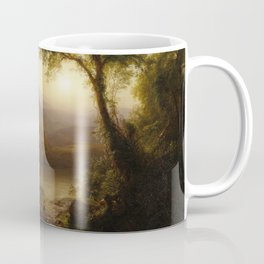 Frederic Edwin Church - Tropical Scenery - Hudson River School Oil Painting Coffee Mug