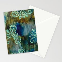 Crystal Fanfare Ink #5 Stationery Cards