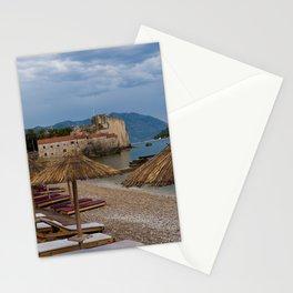 Storm Clouds Over Budva Stationery Cards