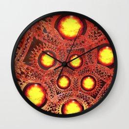 Mechanical universe Wall Clock