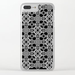 Don't Be Cross (Midnight Version) Clear iPhone Case