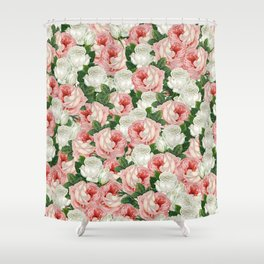 Juliet -  Romantic Roses Shower Curtain