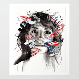 Acid Free 1 Art Print