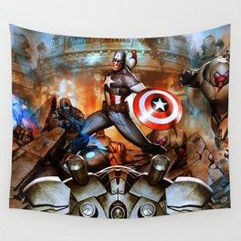 captain war Wall Tapestry