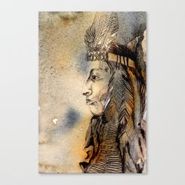 Red Indian Canvas Print