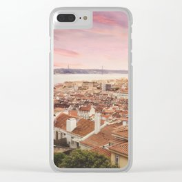 Saudade Clear iPhone Case