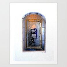Window, Encinitas, California Art Print