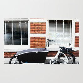 Amsterdam streets - Freight bicycles Rug