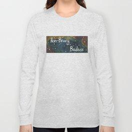 Enby Badass Long Sleeve T-shirt
