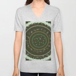 Galaxy rune Unisex V-Neck