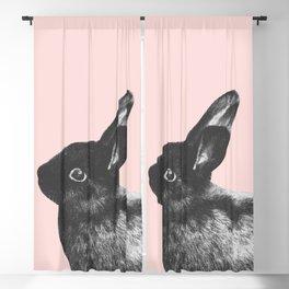 Little Rabbit on Blush #1 #decor #art #society6 Blackout Curtain
