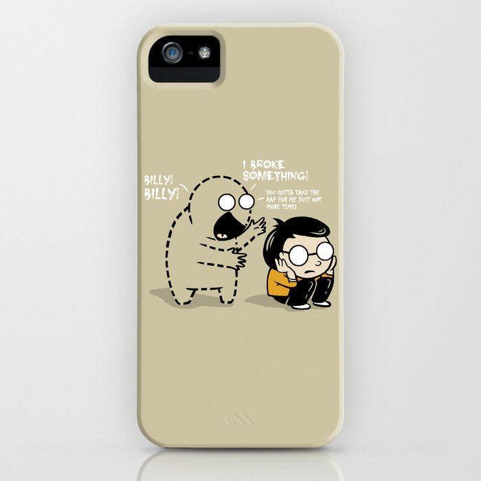 Worst Imaginary Friend Ever iPhone Case