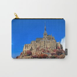 Autumn Shades of Mont Saint-Michel Carry-All Pouch