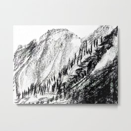 The beauty of mountains Metal Print