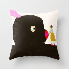 Friends will be friends Throw Pillow