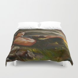Ian Malcolm: From Chaos Duvet Cover