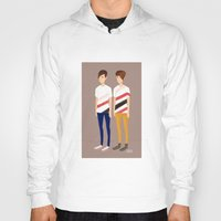 tegan and sara Hoodies featuring Tegan and Sara: TnS #1 by Cas.
