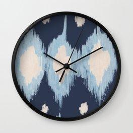 BLUE DROPLETS Wall Clock