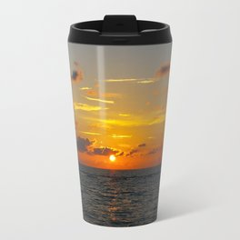 Ocean Sunset in Naples, Florida Travel Mug
