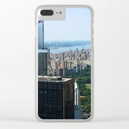 new york city ... concrete jungle I Clear iPhone Case