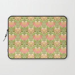 King Protea Flower Pattern - yellow Laptop Sleeve
