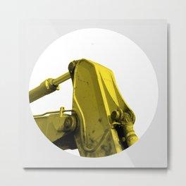 Maschine  Metal Print
