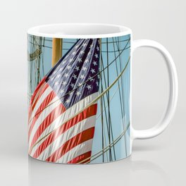 Sailing Ship Flag Coffee Mug