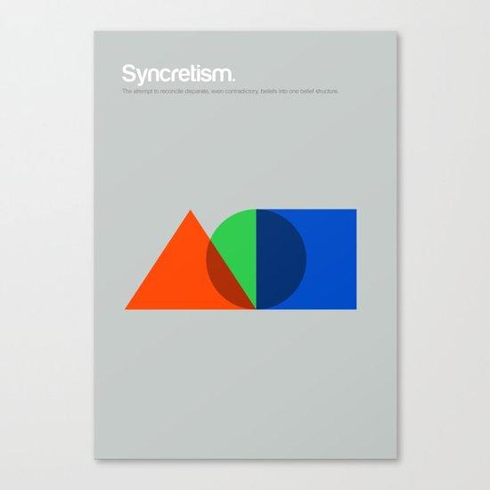 Syncretism Canvas Print