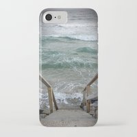 maine iPhone & iPod Cases featuring Maine I by Pistache and Rose