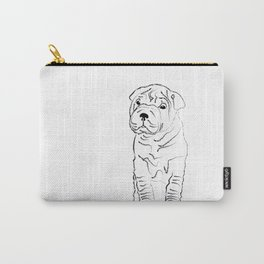 Sharpei, Dog, puppy Carry-All Pouch
