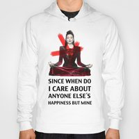 evil queen Hoodies featuring Evil Queen Quotes by Geek World