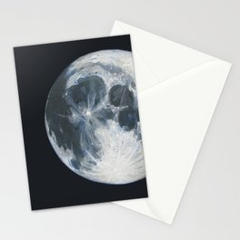 Moon Portrait 1 Stationery Cards