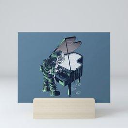 Deepest music Mini Art Print