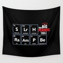 The Big (Bang) Periodic Table Wall Tapestry