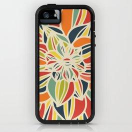 Vintage flower close up iPhone Case