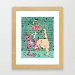 Aaahh!!! Real Monsters Framed Art Print