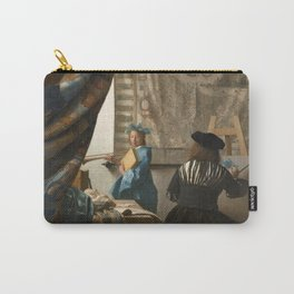 """Johannes Vermeer """"The Art of Painting"""" Carry-All Pouch"""