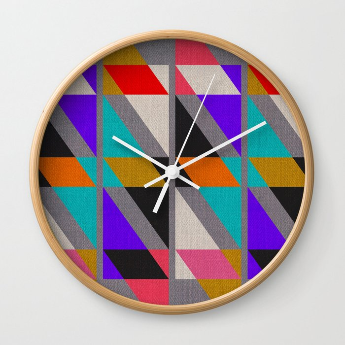 Fragments X Wall Clock