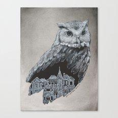 The Night Owl Canvas Print
