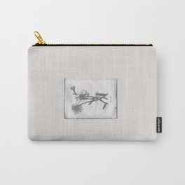 Daisy / creme Carry-All Pouch