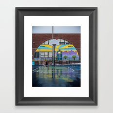 Water Color Framed Art Print