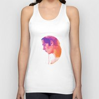 dylan Tank Tops featuring Dylan O'Brien by vulpae