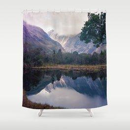 Mirror Lakes Shower Curtain