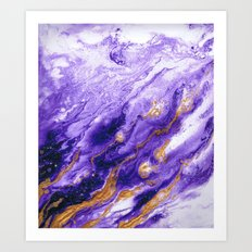 amethyst Art Print